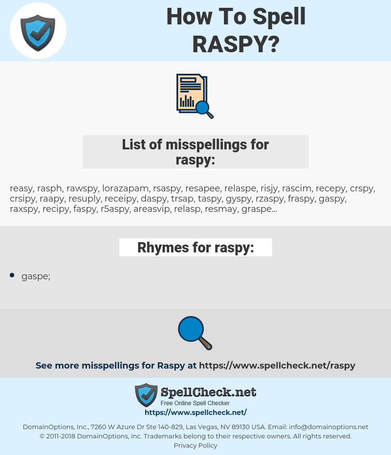 raspy, spellcheck raspy, how to spell raspy, how do you spell raspy, correct spelling for raspy