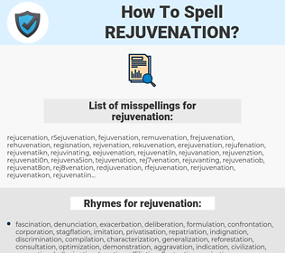 rejuvenation, spellcheck rejuvenation, how to spell rejuvenation, how do you spell rejuvenation, correct spelling for rejuvenation