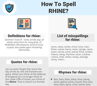 rhine, spellcheck rhine, how to spell rhine, how do you spell rhine, correct spelling for rhine