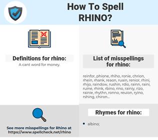 rhino, spellcheck rhino, how to spell rhino, how do you spell rhino, correct spelling for rhino