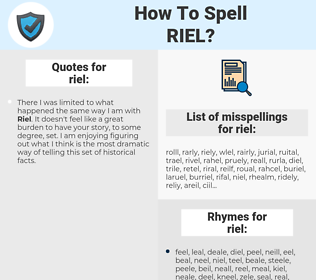 riel, spellcheck riel, how to spell riel, how do you spell riel, correct spelling for riel