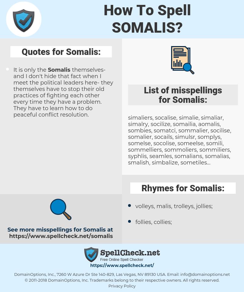 Somalis, spellcheck Somalis, how to spell Somalis, how do you spell Somalis, correct spelling for Somalis