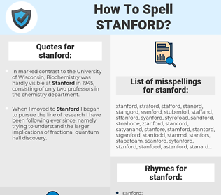 stanford, spellcheck stanford, how to spell stanford, how do you spell stanford, correct spelling for stanford