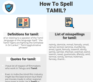 tamil, spellcheck tamil, how to spell tamil, how do you spell tamil, correct spelling for tamil