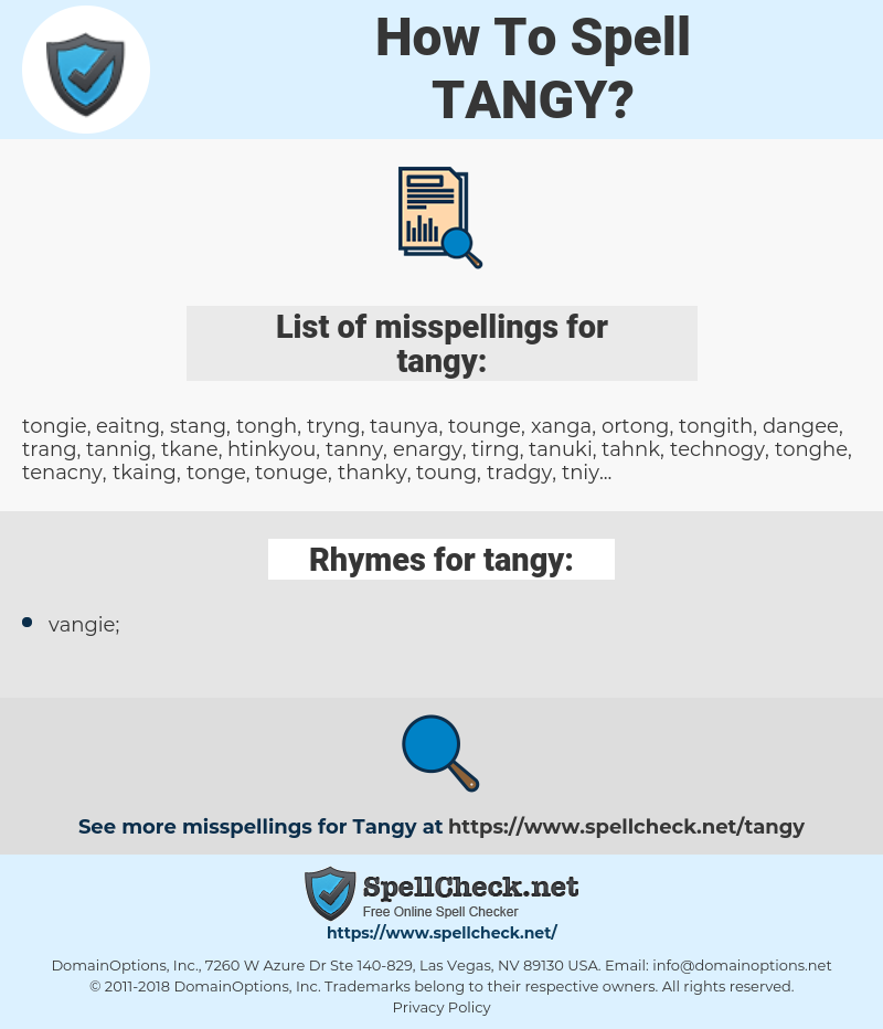 tangy, spellcheck tangy, how to spell tangy, how do you spell tangy, correct spelling for tangy