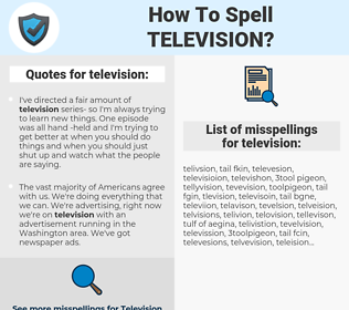 television, spellcheck television, how to spell television, how do you spell television, correct spelling for television