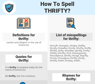 thrifty, spellcheck thrifty, how to spell thrifty, how do you spell thrifty, correct spelling for thrifty