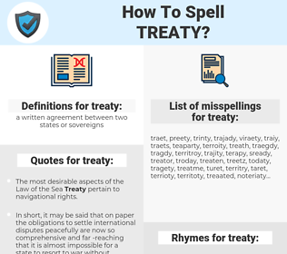 treaty, spellcheck treaty, how to spell treaty, how do you spell treaty, correct spelling for treaty