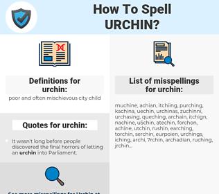 urchin, spellcheck urchin, how to spell urchin, how do you spell urchin, correct spelling for urchin