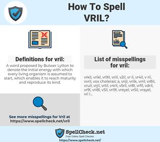 vril, spellcheck vril, how to spell vril, how do you spell vril, correct spelling for vril