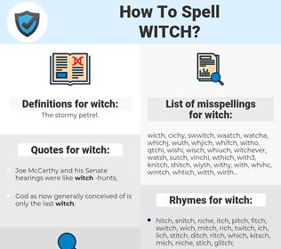 witch, spellcheck witch, how to spell witch, how do you spell witch, correct spelling for witch