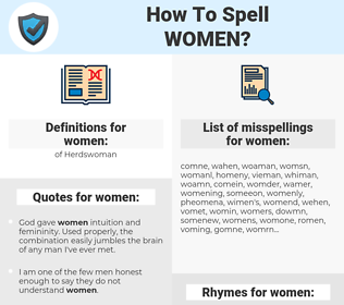 women, spellcheck women, how to spell women, how do you spell women, correct spelling for women