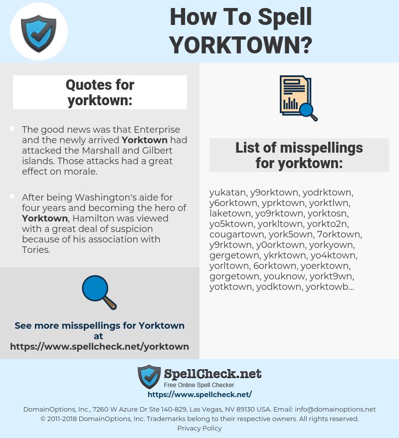 yorktown, spellcheck yorktown, how to spell yorktown, how do you spell yorktown, correct spelling for yorktown
