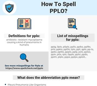 pplo, spellcheck pplo, how to spell pplo, how do you spell pplo, correct spelling for pplo