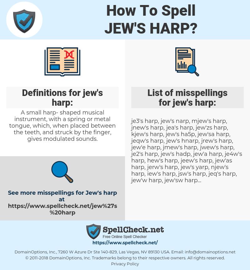 jew's harp, spellcheck jew's harp, how to spell jew's harp, how do you spell jew's harp, correct spelling for jew's harp