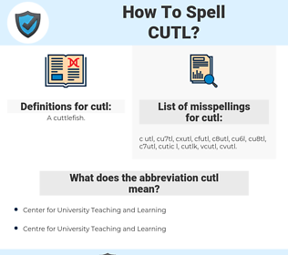 cutl, spellcheck cutl, how to spell cutl, how do you spell cutl, correct spelling for cutl