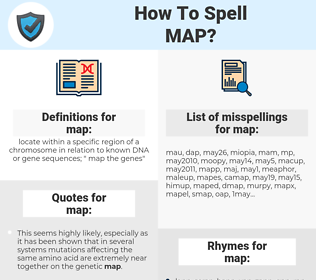 map, spellcheck map, how to spell map, how do you spell map, correct spelling for map