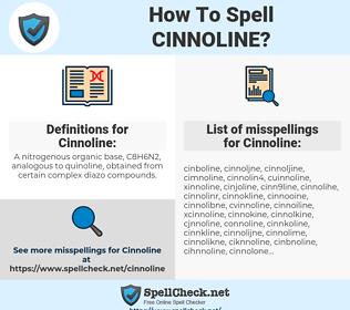 Cinnoline, spellcheck Cinnoline, how to spell Cinnoline, how do you spell Cinnoline, correct spelling for Cinnoline