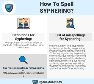 Syphering, spellcheck Syphering, how to spell Syphering, how do you spell Syphering, correct spelling for Syphering