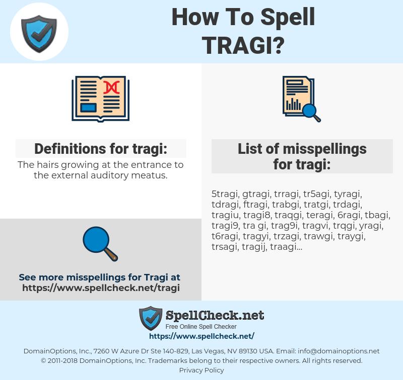 tragi, spellcheck tragi, how to spell tragi, how do you spell tragi, correct spelling for tragi