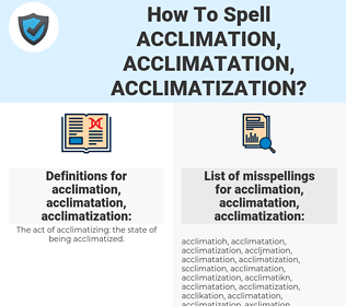 acclimation, acclimatation, acclimatization, spellcheck acclimation, acclimatation, acclimatization, how to spell acclimation, acclimatation, acclimatization, how do you spell acclimation, acclimatation, acclimatization, correct spelling for acclimation, acclimatation, acclimatization