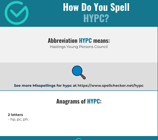 Correct spelling for HYPC