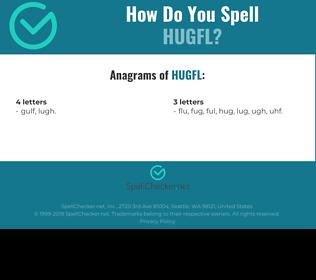 Correct spelling for HUGFL