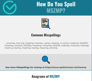 Correct spelling for MSZMP
