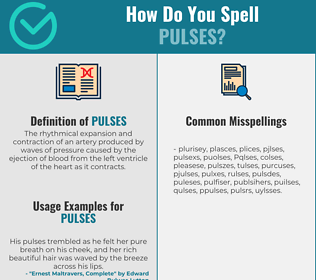 Correct spelling for Pulses