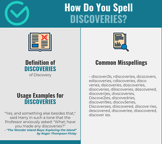 Correct spelling for Discoveries
