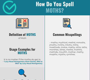 Correct spelling for Moths