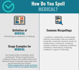 Correct spelling for medical