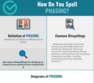 Correct spelling for Phasing