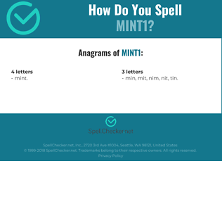 Correct spelling for MINT1