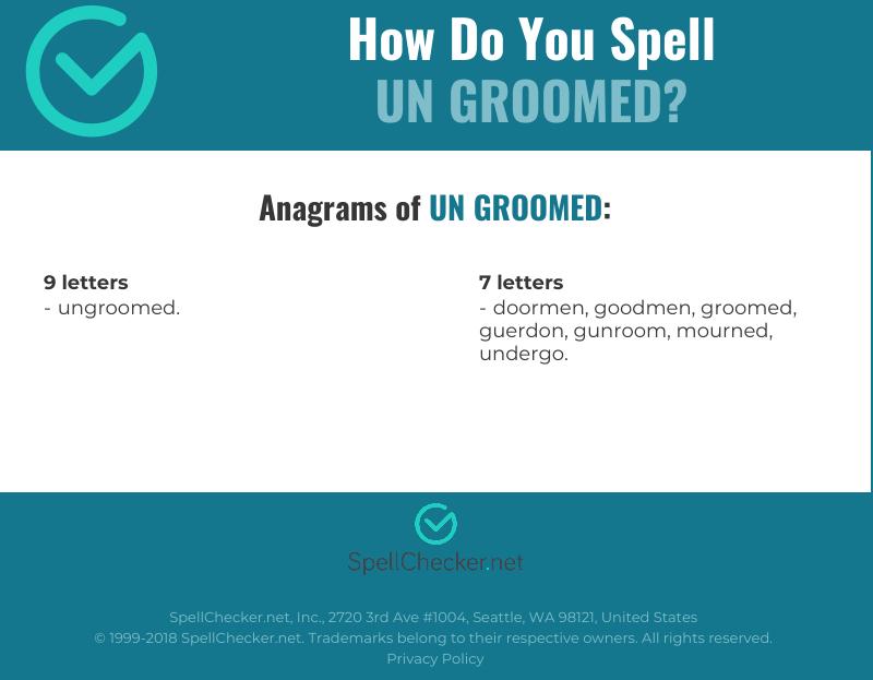 Beaches] 7 letter word groomed