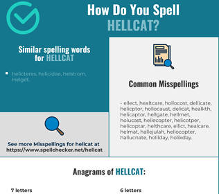 Correct spelling for hellcat