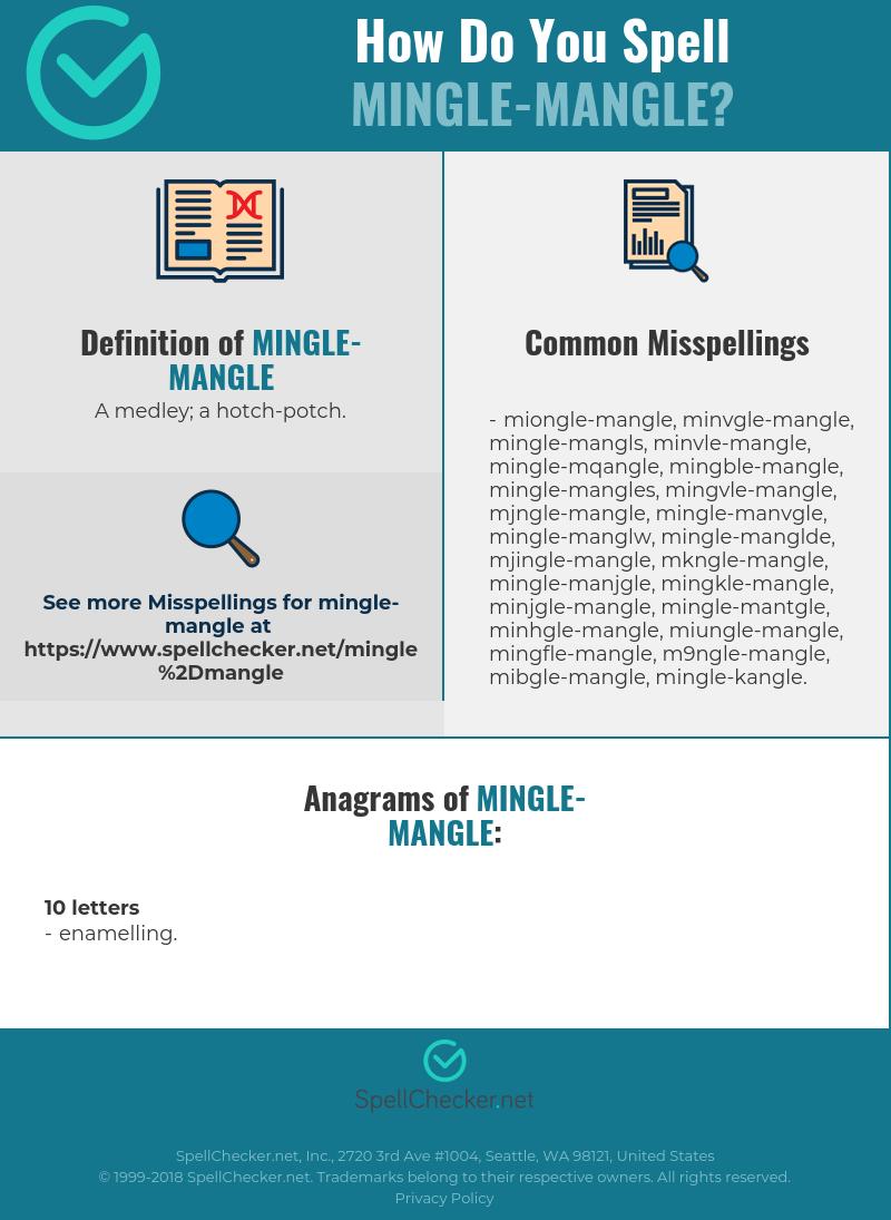 Mingle definition