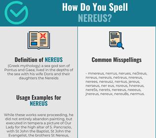 Correct spelling for nereus