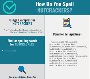 Correct spelling for nutcrackers