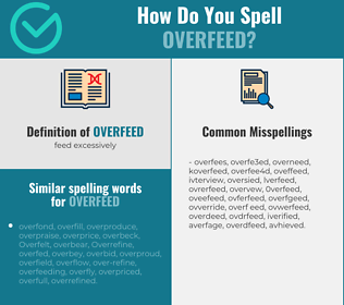 Correct spelling for overfeed