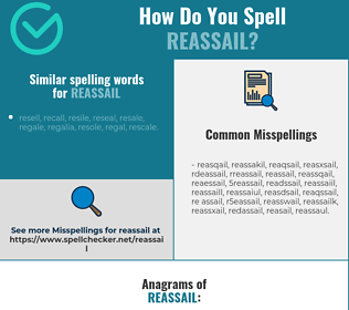 Correct spelling for reassail