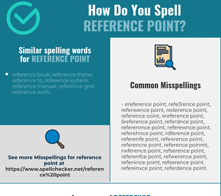 Correct spelling for reference point