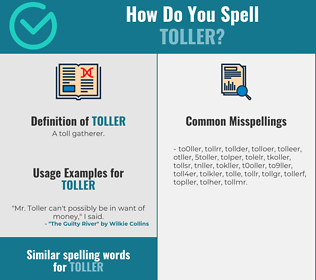 Correct spelling for toller