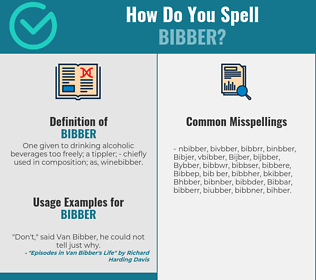 Correct spelling for Bibber