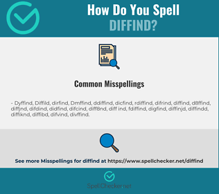 Correct spelling for Diffind