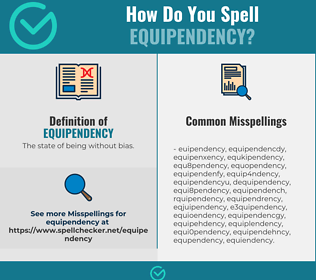 Correct spelling for Equipendency