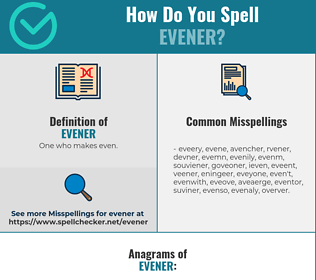 Correct spelling for Evener