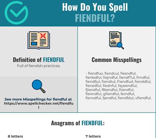 Correct spelling for Fiendful