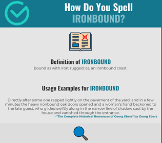 Correct spelling for Ironbound