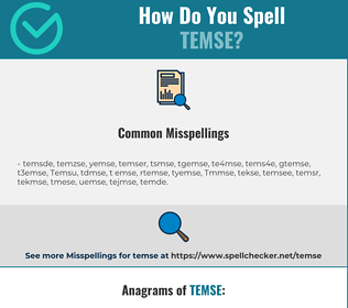 Correct spelling for Temse